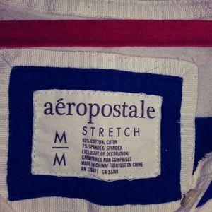 Aeropostale Tops Stripped 34 Sleeve Top Sz Medium Poshmark